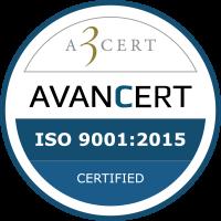 ISO9001 certificering
